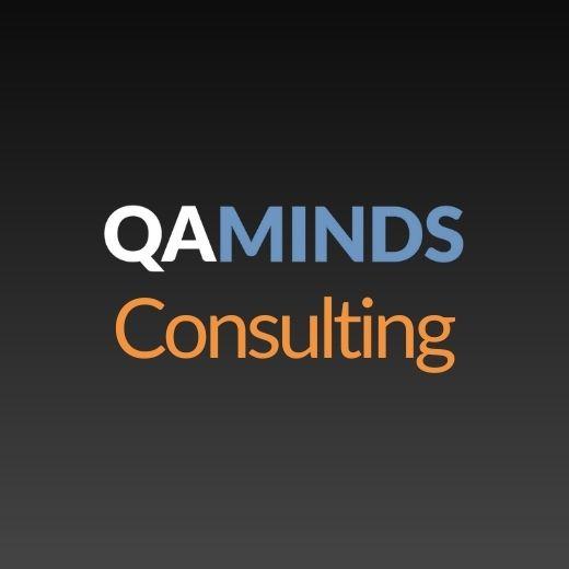 QA Minds Talent Logo